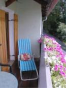 Quiet balcony with nice view